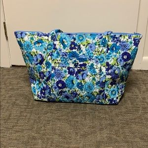 Vera Bradley Miller Bag - Blueberry Blooms